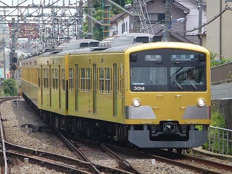 西武新宿線 各停 本川越行き1 3000系(引退)