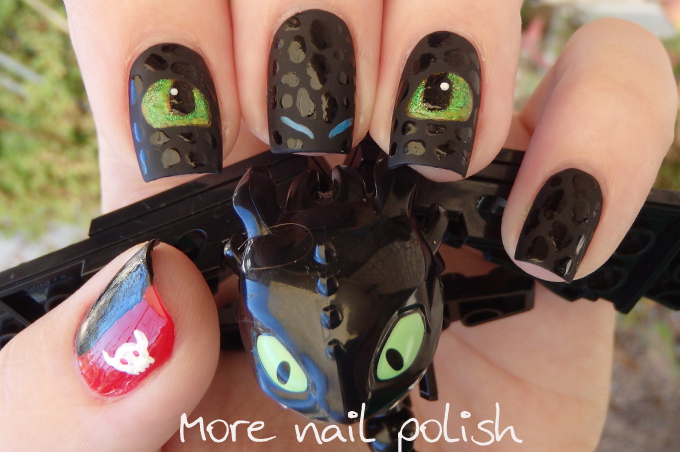 Dragon Nail Art Decals Dragonfly Nail Art On Cross Designs