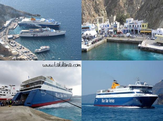 Santorini Liman Feribot