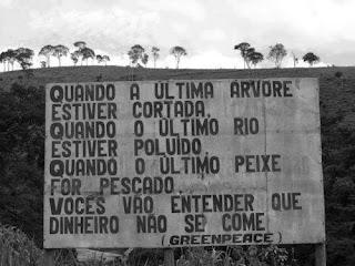 Mensagem do Greenpiece