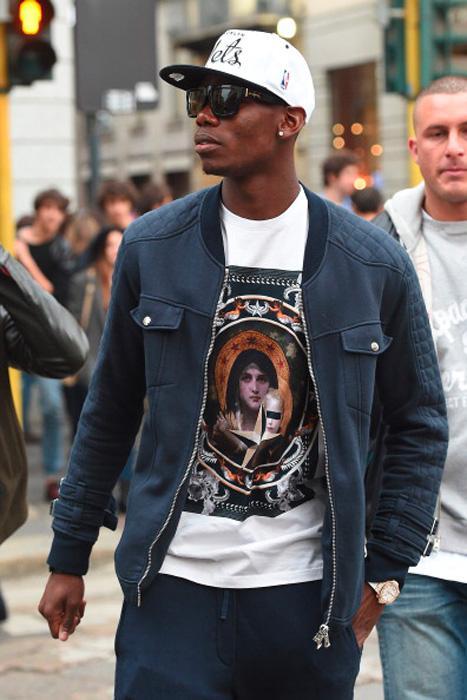 Football Player S Fashion Style Paul Pogba Style