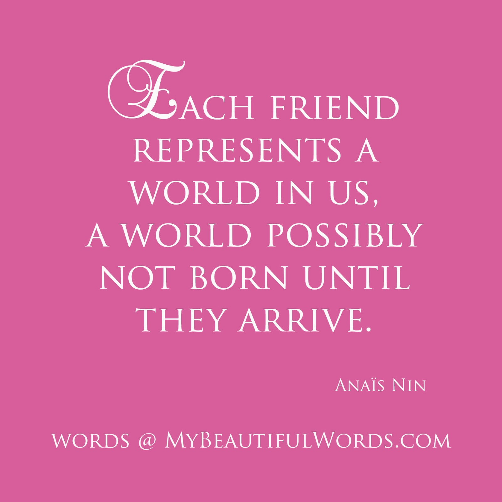 Beautiful words to a friend should be said with a soul 72