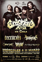 ENTOMBED AD en Chile