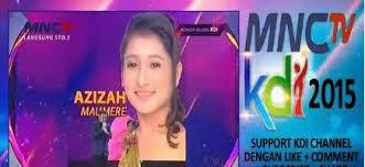 Gadis asal Kota Maumere Kabupaten Sikka Flores NTT menuju Bintang KDI (MNC TV) 2015.