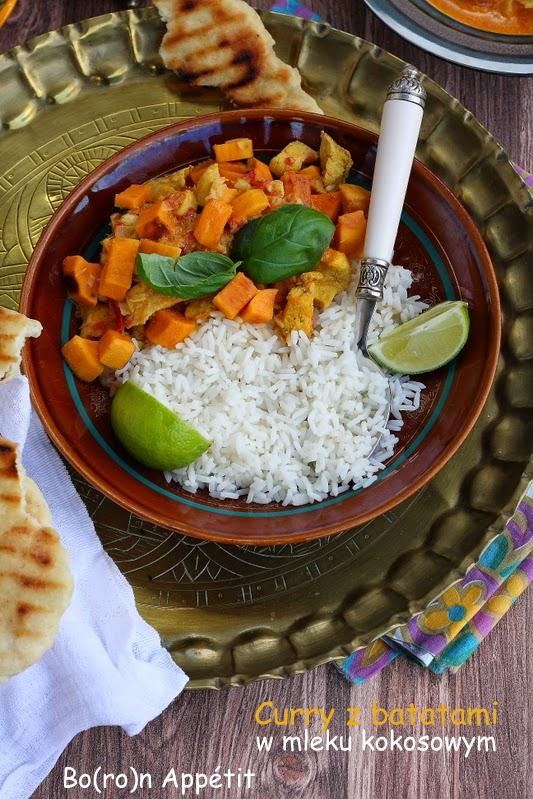Curry z batatami