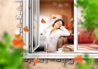 Женские стихи, стихи про утро