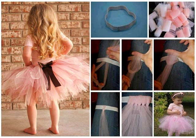 DIY Pretty Non Sew Tutu