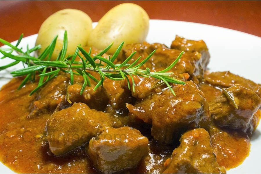 Estofado de Carne Endiablada