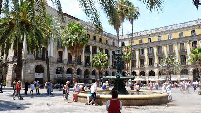 Plaza Real de Barcelona