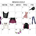 March Hot Buys 2012 Calendar