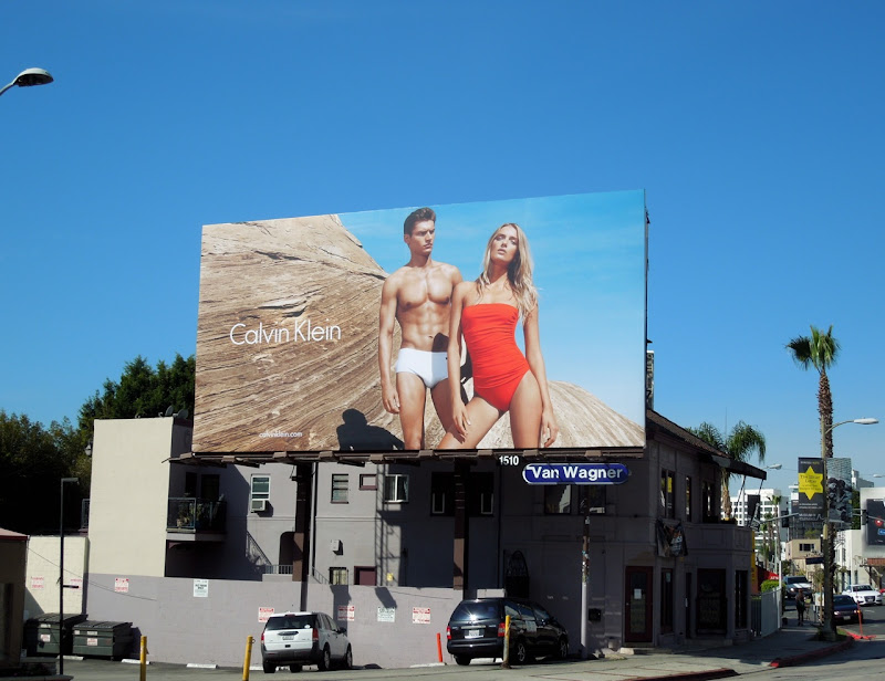 Calvin Klein swimwear 2012 ad