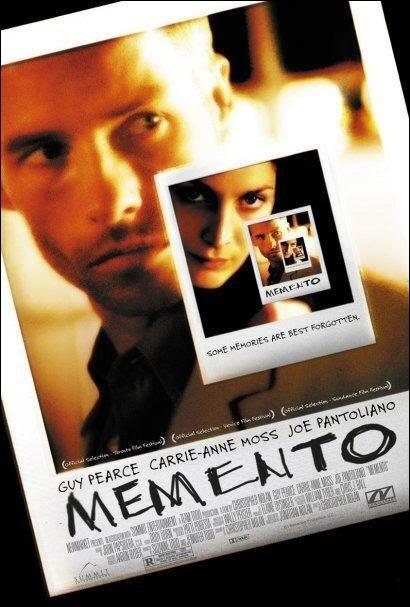 Cartel película Memento