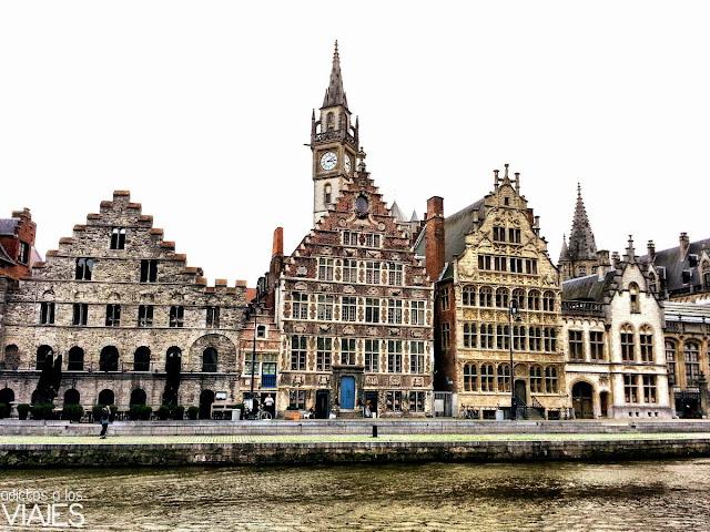 Edificios del siglo XVII en Gante