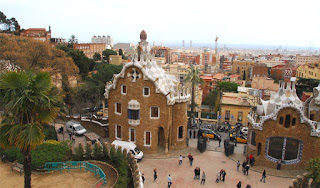 Gaudi's Park Güell - barcelonasights blog