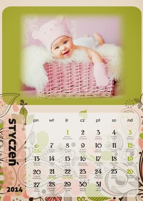 Foto kalendarz Floral