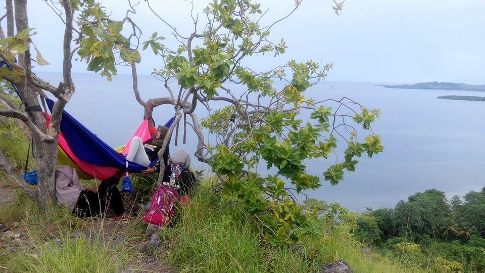 hammock di pulau karamasang