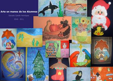 El Arte en Manos de Los Alumnos y Alumnas