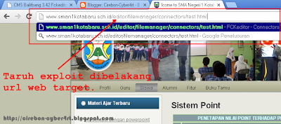 Tutorial Cara Deface Website CMS Balitbang 3.42
