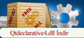 Qtdeclarative4.dll Hatası çözümü.