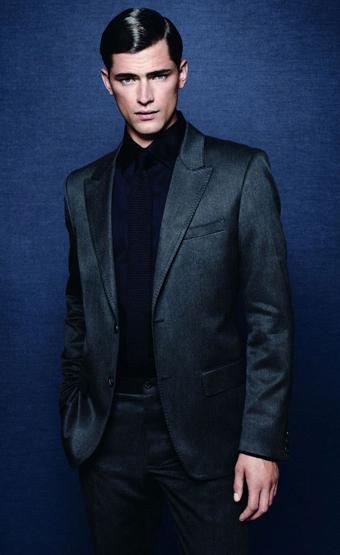 trajes chaqueta hombre Zara otoño invierno 2011 2012
