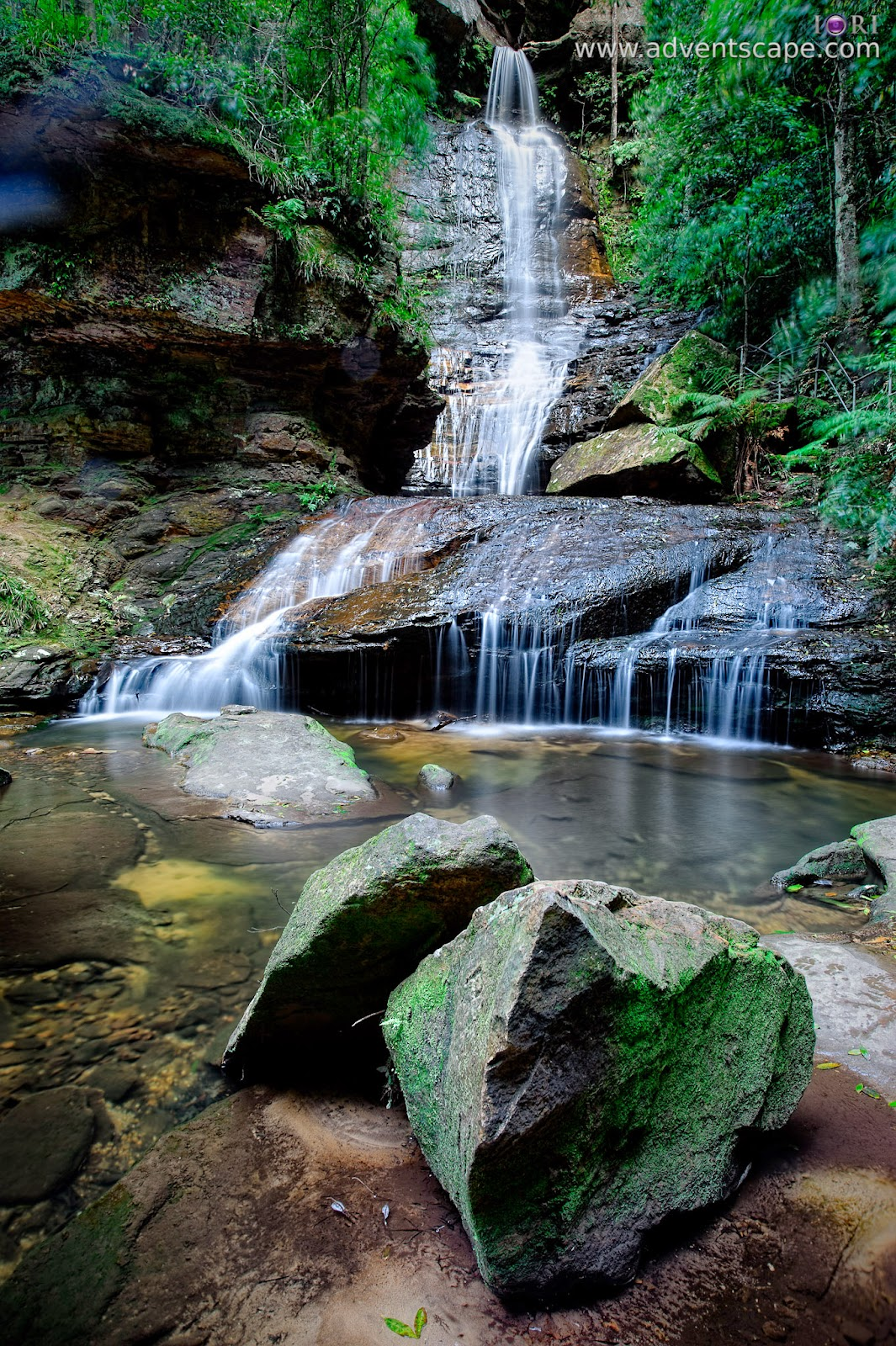 Philip Avellana, iori, adventscape, Wentworth Falls, falls, waterfalls, tourism, hike, track, bush walk, NSW, New South Wales, Australia, Katoomba, Wentworth, Australia, Blue Mountains, Empress Falls