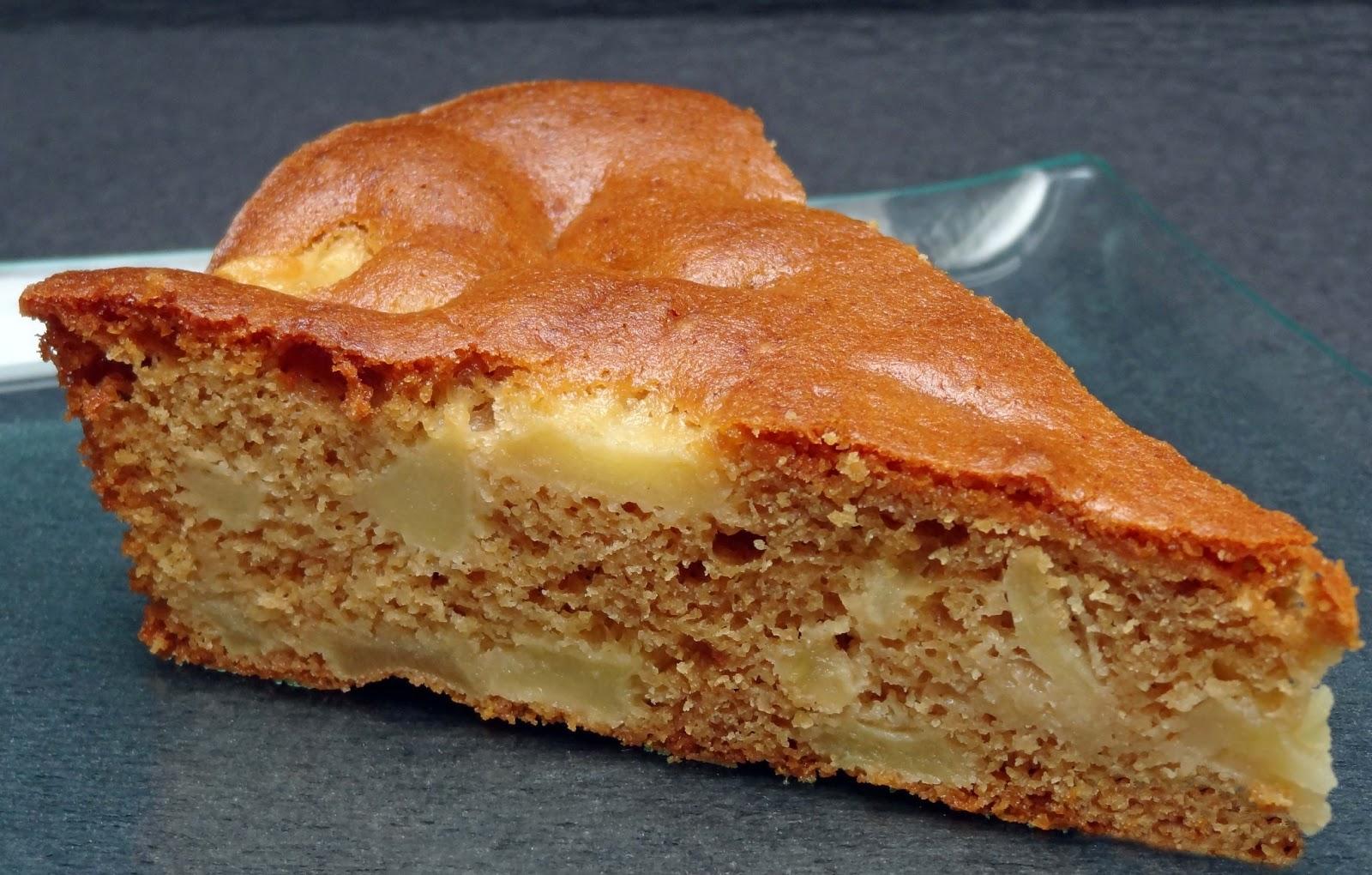 Les pâtisseries de Claudine: Gâteau aux pommes et sirop de Liège