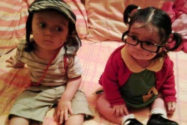 de la foto del mini Chavo y la Chilindrina   El Blog De Jeskik