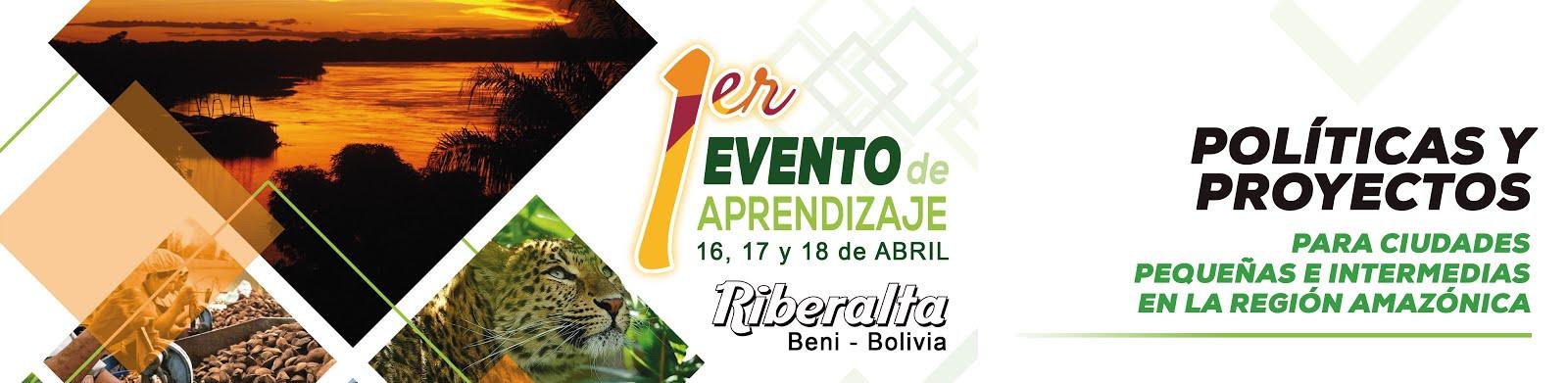 1er. Evento de Aprendizaje Políticas y proyectos para ciudades en la región Amazónica