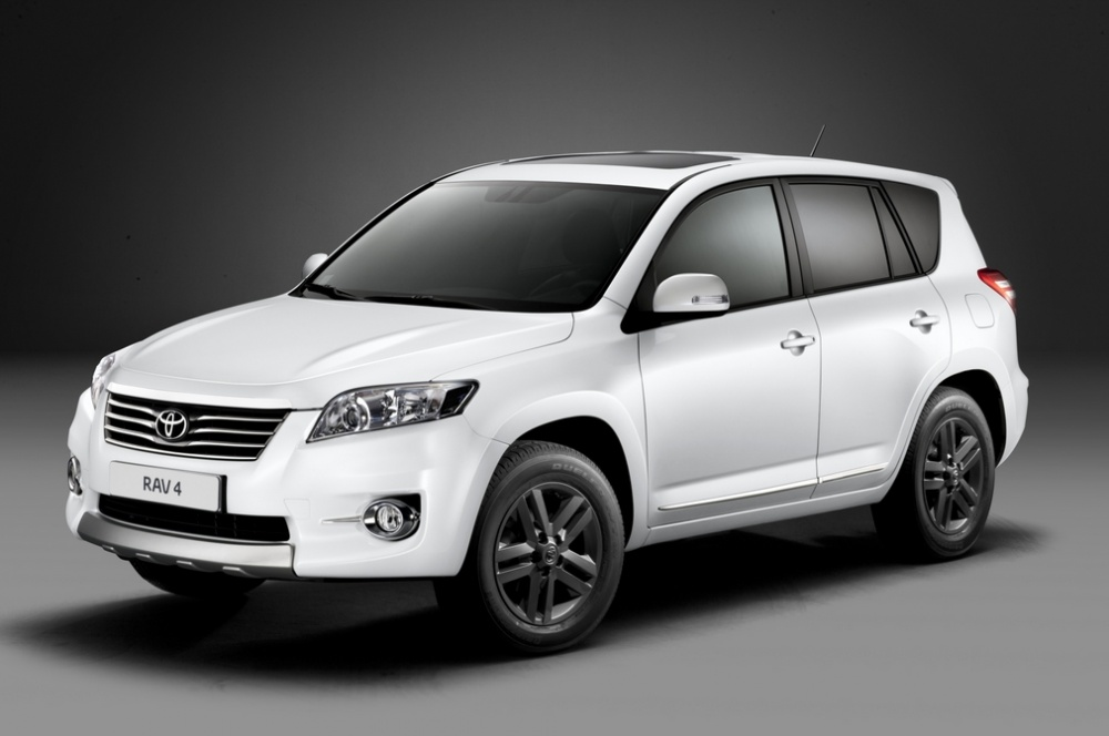 toyota rav4 white edition the white suv car. Black Bedroom Furniture Sets. Home Design Ideas