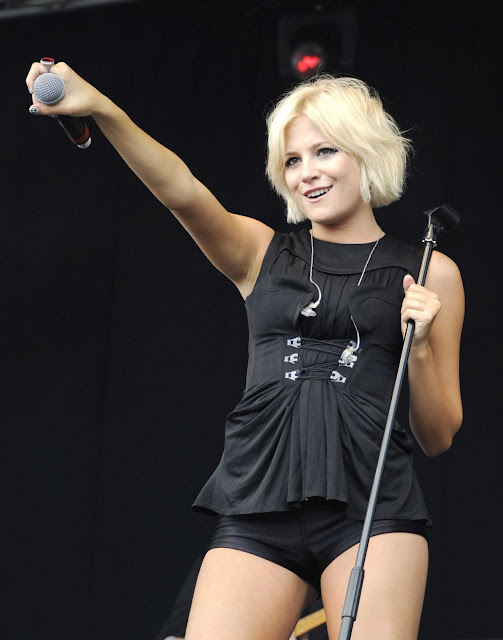 Pixie Lott performs at 2011 Live Hanley Park