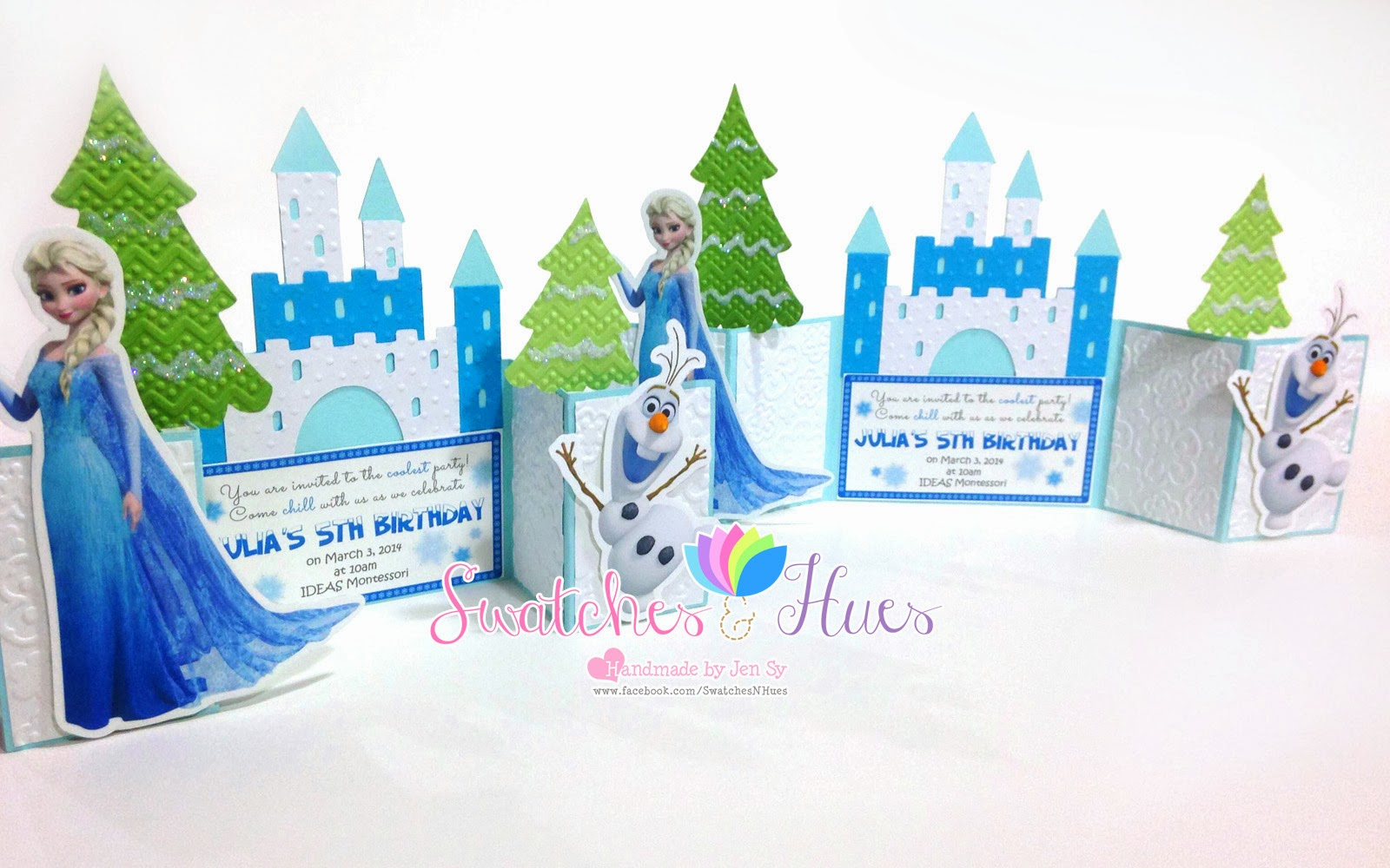 swatches  u0026 hues   handmade with tlc  frozen themed gate