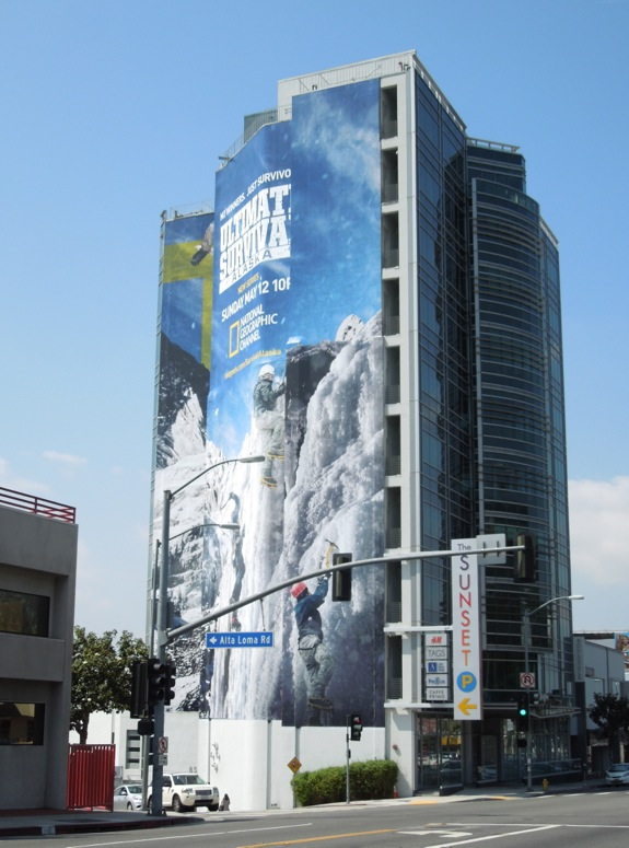Giant Ultimate Survival Alaska billboard