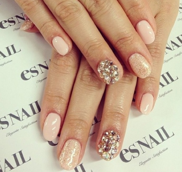 Pink For Prom Nail Ideas: