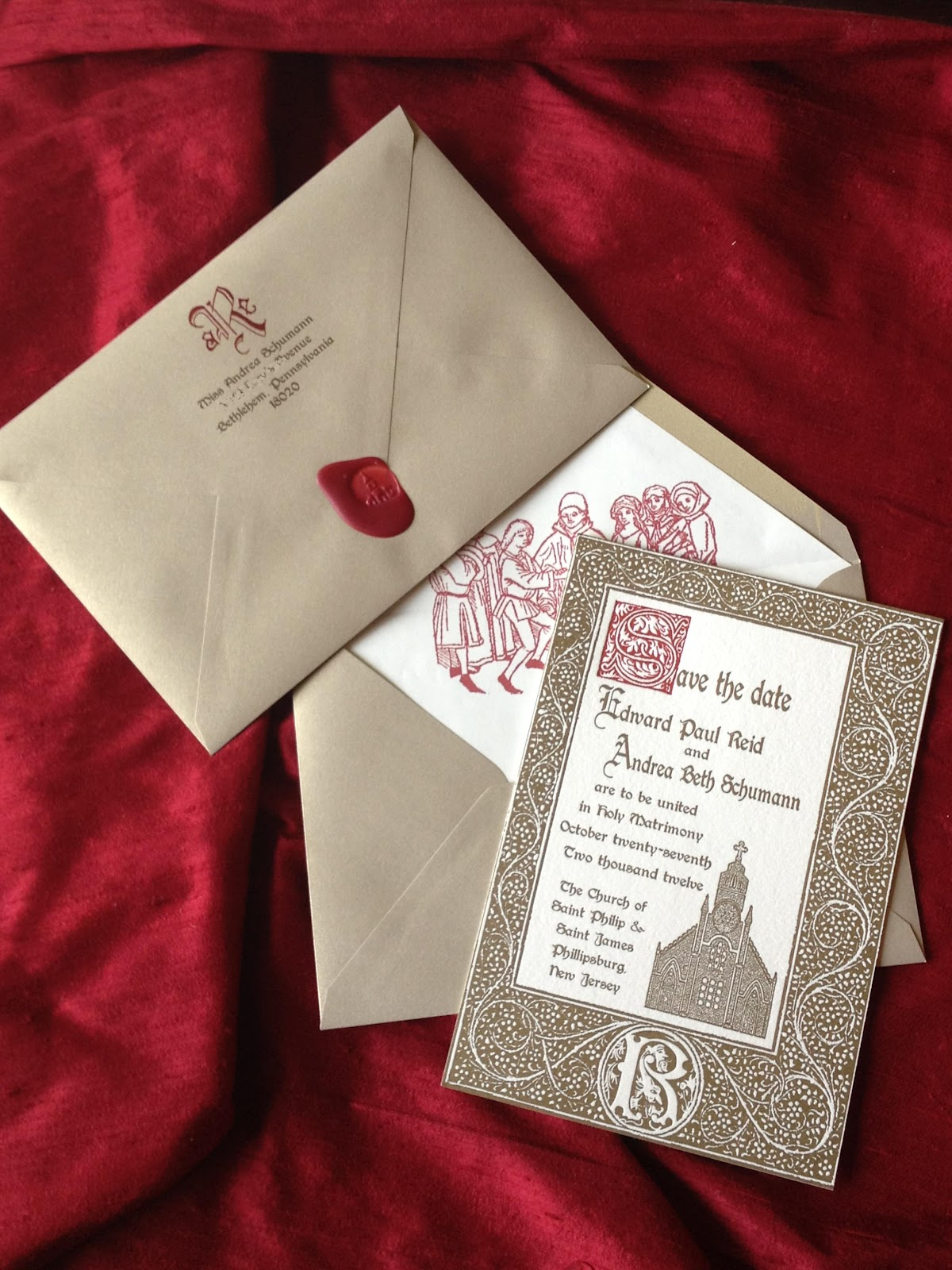 Revelry Invitation Studio Chatter: Borgias 15th Century Inspired ...