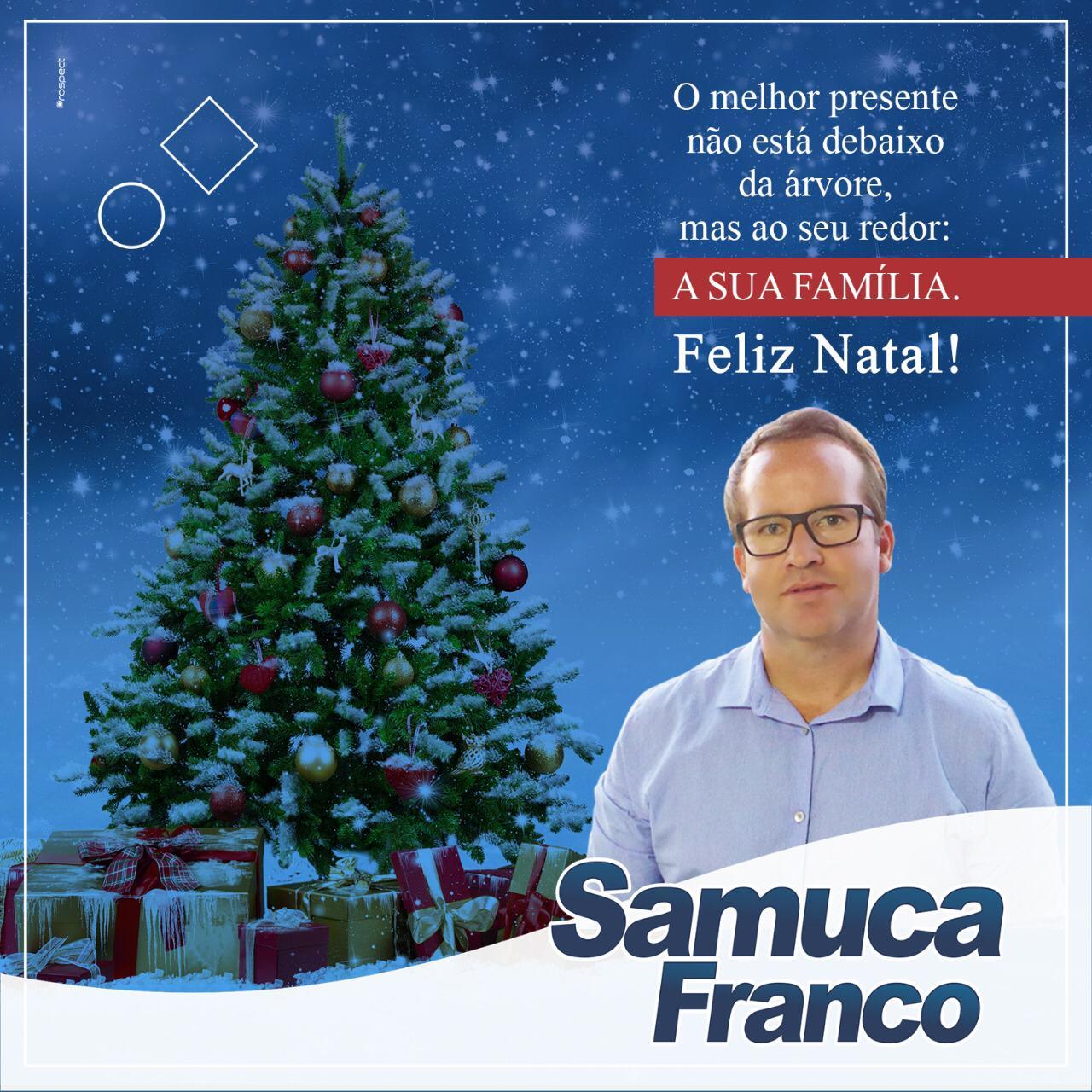 MENSAGEM DO EMPRESÁRIO SAMUCA FRANCO