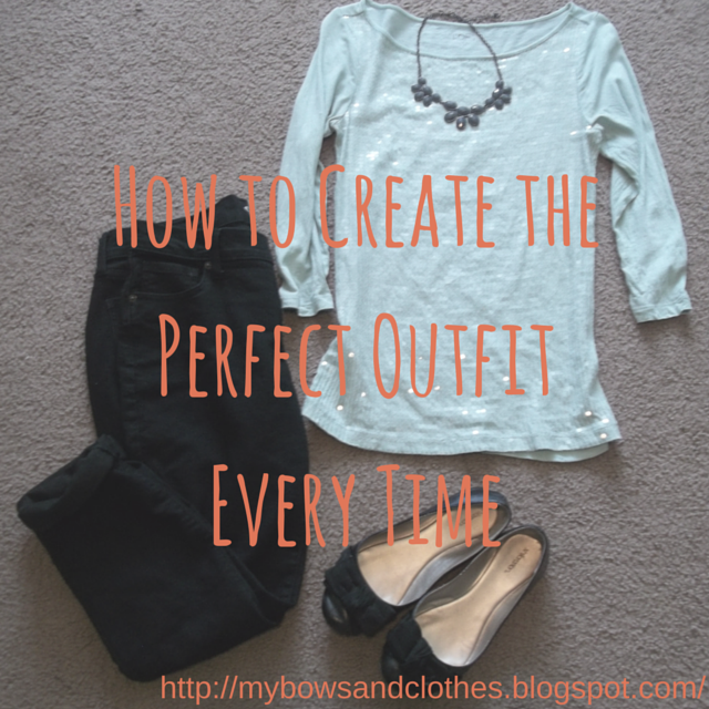 Style Snippets: How to Create the Perfect Outfit Every Time. #StyleSnippets #BowsandClothes #blackjeans #sequintop #leopard