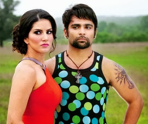 sunny leone and sachin joshi in jackpot movie