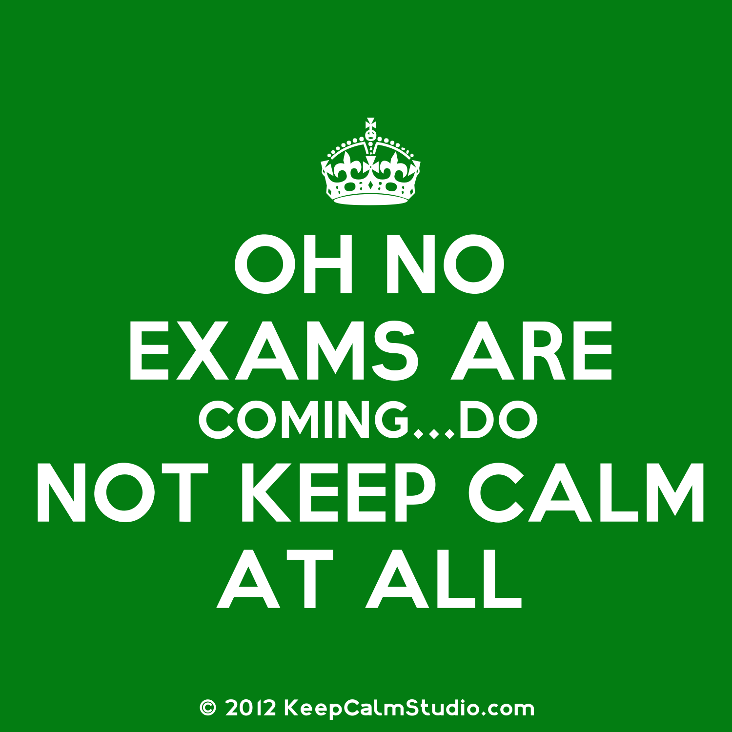 enjoy our examinations Good luck poems for exams: the stress and nervousness of giving an exam might seem funny but in reality, it weighs down a lot on students a little bit of inspiration, motivation and support goes a long way.