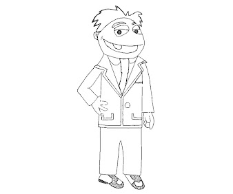 #6 The Muppets Coloring Page