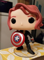 Black Widow with Shield