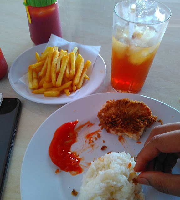 MEGA CHICKEN DI MEGA CITY TEMBUNG