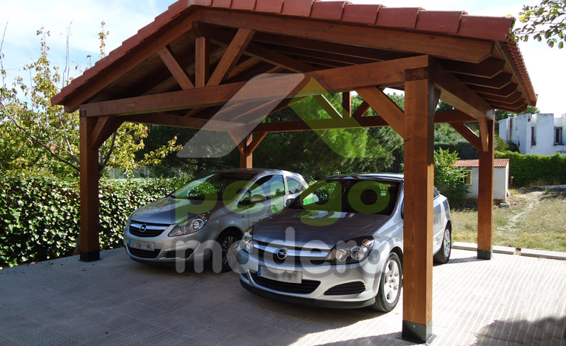 Pergomadera estructuras de madera septiembre 2013 - Garajes prefabricados precios ...