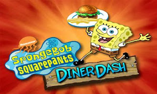 Screenshots of the SpongeBob Diner Dash for Android tablet, phone.