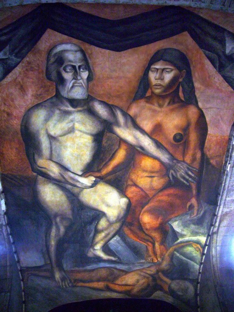 Hernán Cortés & La Malinche.