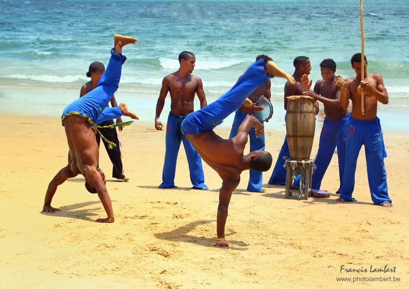 Capoeira-Brazil-beach