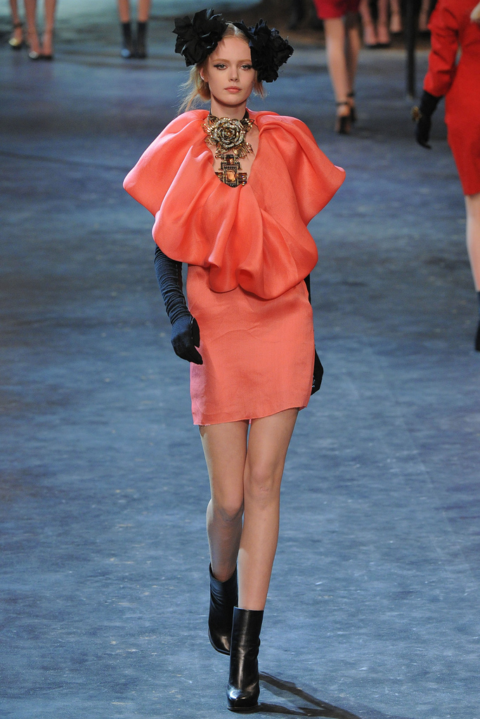 Lanvin Fall/Winter 2011 accessories / ankle boots trend report