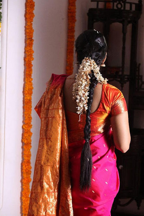 anushka Saree photos from thandavam actress pics