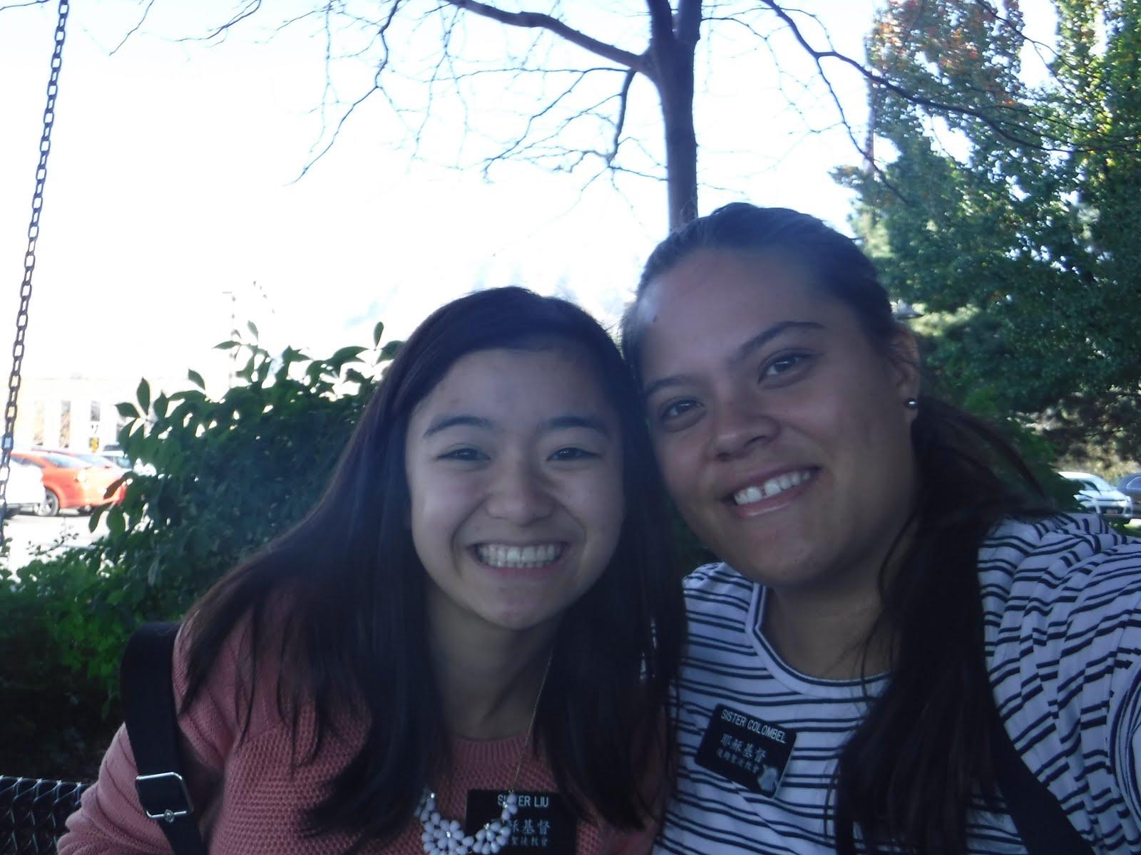 Provo Utah M.T.C. Companions                                               Sister Liu