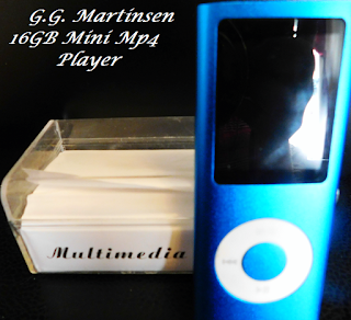 Ramblings Thoughts, Review, Video, Mp4 Player, G.G. Martinsen, Music Player