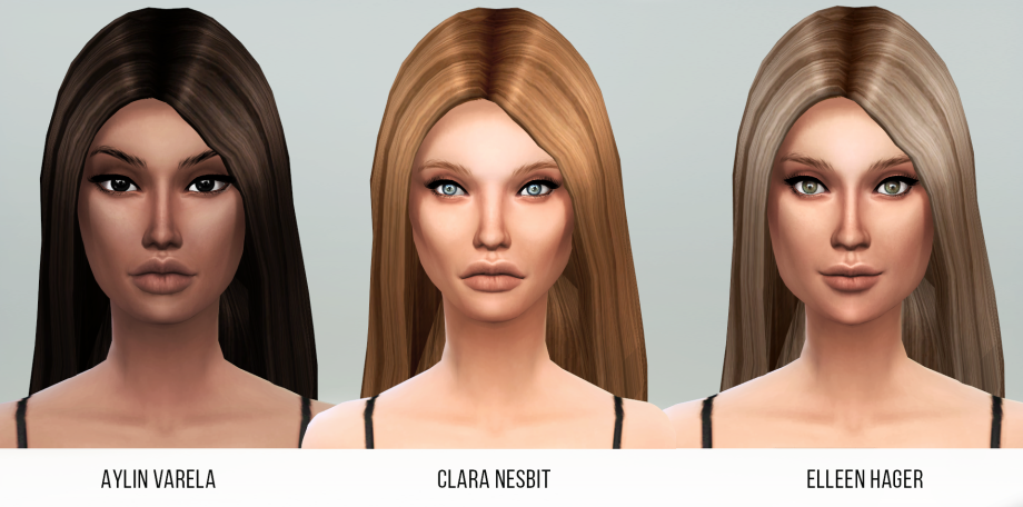 My sims 4 blog envy skin for females by s4models